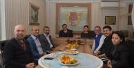Başkan Yücel  AGC#039;yi ziyaret etti