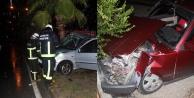 Bir gecede iki ayrı kaza: 2 yaralı