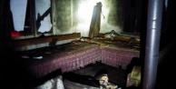 İki katlı bir evde çıkan yangın korkuttu