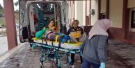 İş kazasında bir kişi yaralandı