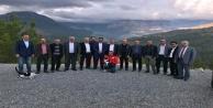 İYİ Parti adayı Sönmez kırsal mahallelerde vatandaşı dinliyor