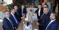 Türel, Yücel, Toklu ve Türkdoğan#039;dan ittifak yemeği