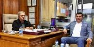 Türkdoğandan MHPli Şahine ziyaret