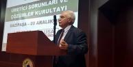 Vatan Partisi Genel Başkanı Perinçek Gazipaşa'daydı