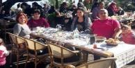 Yılbaşı galası öncesi Alanya Kalesi#039;nde keyif yaptılar