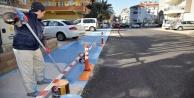 Alanya Belediyesi bisiklet yollarında sona yaklaştı