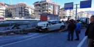 Alanya Çevre Yolunda korkutan kaza: 1 yaralı