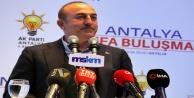 """Alanyalı Bakan Çavuşoğlu: Siz geçmişte de Kürtleri kullandınız"""""""
