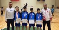 Alanyaspor Badmintonda 2nci oldu