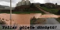 Gazipaşa halkı yetkililere sesleniyor: Yollar su altında kaldı