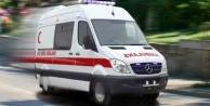 Gazipaşa'da kamyonetle motosiklet çarpıştı: 1 yaralı
