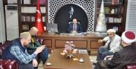 Şehit Kaymakamın ailesinden Alanya Müftüsü#039;ne ziyaret