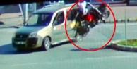 2 genci hayattan koparan kaza saniye saniye kaydedildi!