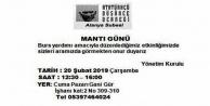 ADD Alanya#039;dan 'Mantı Gününe davet
