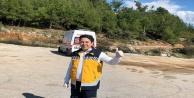 Alanya#039;daki helikopter pisti driftçilerin mekanı oldu