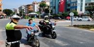 Alanya polisi motosikletlilere göz açtırtmıyor
