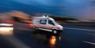 Alanyada yürekleri ağza getiren kaza: 1 kişi yaralandı!