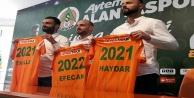 Alanyaspor#039;da sözleşmeler uzatıldı