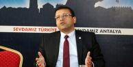 CHP#039;deki kriz için il başkanı Alanya#039;da