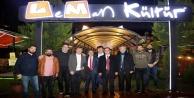 Millet İttifakı#039;nın Gazipaşa ekibi Leman#039;da gündemi değerledindirdi