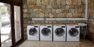 Üniversiteliler için ücretsiz çamaşırhane
