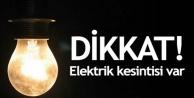 Alanya'da elektrik kesintisi yaşanacak!