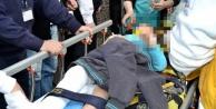 Alanya'da korkutan kaza! 1 çocuk yaralandı