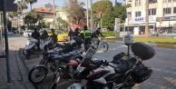 Alanya polisi kurallara uymayan motosikletlileri affetmiyor