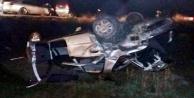 Alanyadaki feci kazada 2si ağır 3 yaralı