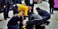 Alanyadaki feci kazada kadın sürücü yaralandı!