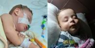 Anne ve babası cezaevinde olan 'SMA TİP1 hastası minik Yağızın acı savaşı!