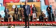 Bakan Çavuşoğlu ve Ertuğrul ekibi ALKÜ'deydi