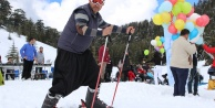 Birinci Alanya Akdağ Kayak Festivali yapıldı