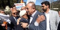 Çavuşoğlu#039;ndan Gündoğmuş#039;ta CHP#039;ye çok sert HDP tepkisi