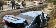 Feci kazada 2'si ağır 5 kişi yaralandı!
