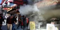 Kebap restoranında yangın paniği!