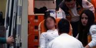 Obada korkutan kaza: 1 kişi yaralandı