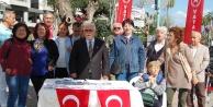 Vatan Partisi Alanya  'Bilgilendirme Masasını açtı