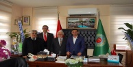 Vatan Partisi'nden Tahir Göktepe'ye ziyaret