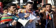 Yörük Gençliği Platformunda CHP protestosu