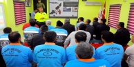Alanya Belediyesi personeline trafikte farkındalık eğitimi