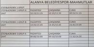 Alanya Belediyespor Mahmutlar#039;da spor merkezi açıyor