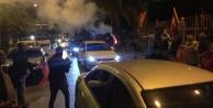 Alanya CHP#039;den #039;Mazbata#039; konvoyu ve kutlama