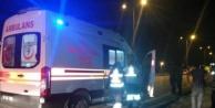 Alanya#039;da hasta taşıyan 112 Acil kaza yaptı