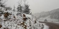 Alanya#039;da Nisan ayında kar şaşkınlığı
