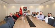 ALTİD'den Başkan Yücel'e ziyaret