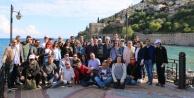 Antalyalı gazeteciler Alanya#039;nın güzelliklerini fotoğrafladı