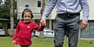 Babasının 150 TL#039;ye kurduğu düzenekle yürümeyi öğrendi, şimdi koşmak istiyor