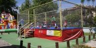 Çocuklar 23 Nisan'da Alanya Belediyesi ile güldü