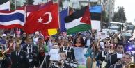 Dünya çocukları Antalyada buluştu